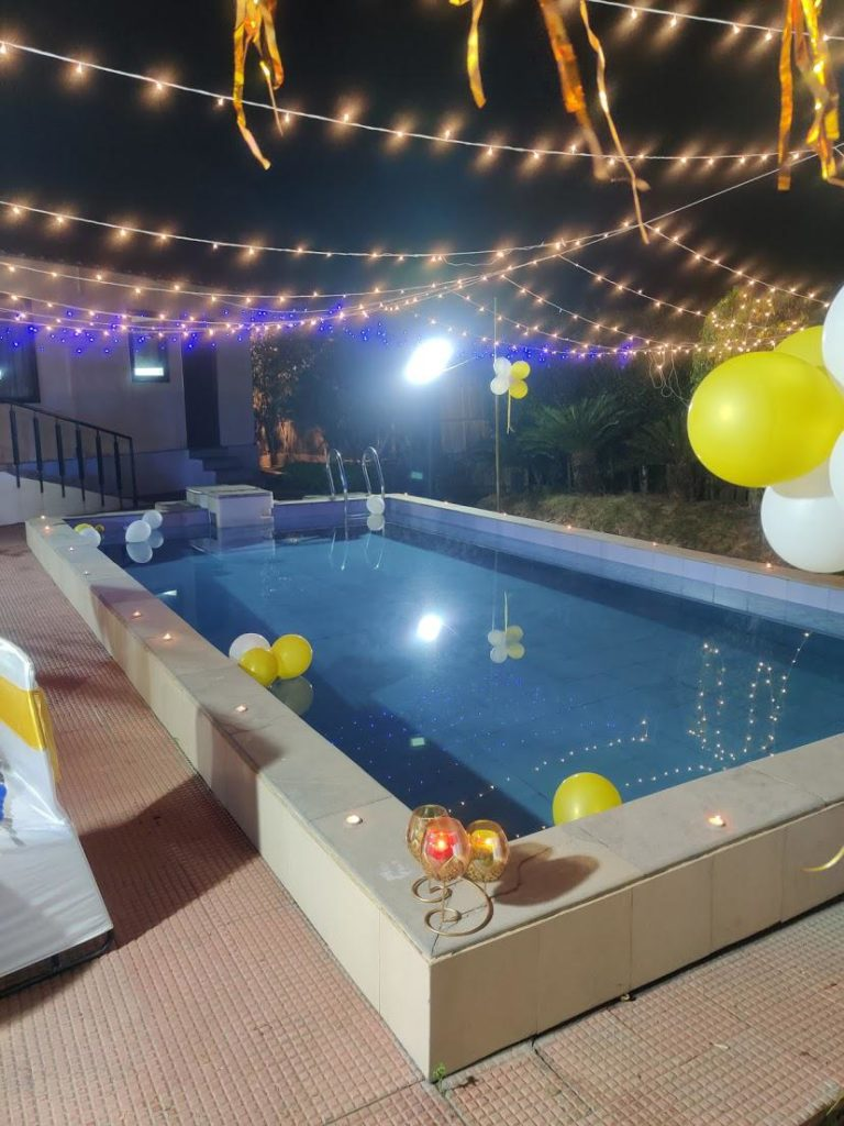 Farm House for Birthday Party in noida
